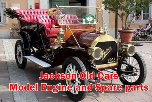 Jackson Old Cars - Model Engine and Spare parts
