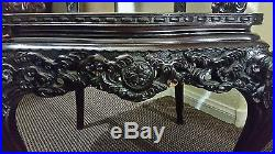 antique chinese dragon chair covers canada wedding 1850 s hand carved rosewood rare sale