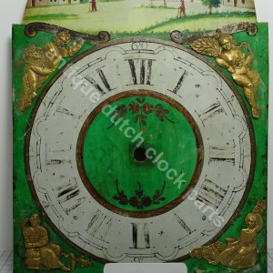Dial & hand painted dial