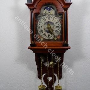 Schippertje clock parts vintage