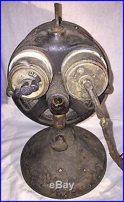 Antique Westinghouse Electric Fan Unusual Porcelain