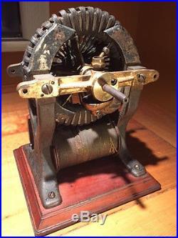 Antique Edison Ge Slo Speed Motor Fan Shunt Wound Electric