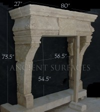 Pictures of Fireplaces in an Old Villa   Antique ...