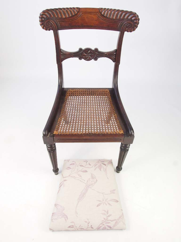 Linen Desk Chair