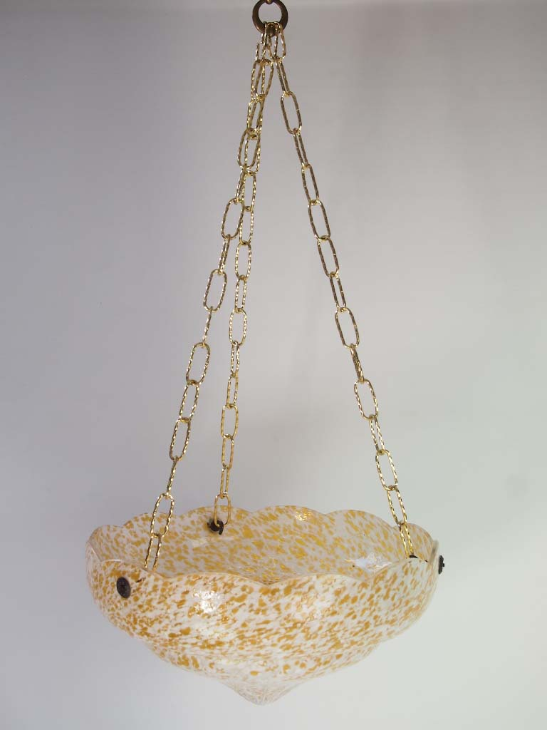 hanging ceiling chairs for bedrooms revolving chair art deco light shade / plafonnier