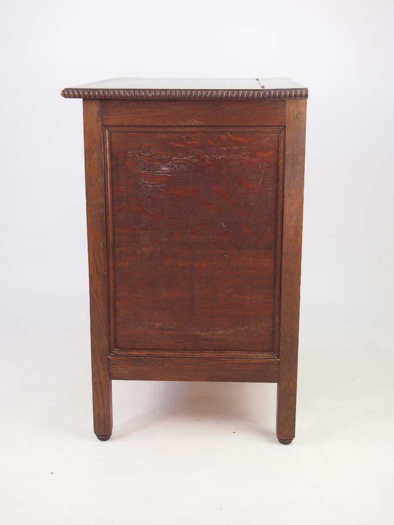 Small Vintage Oak Cabinet
