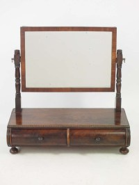Antique Regency Dressing Table Mirror