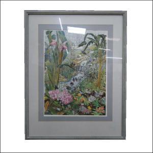 Butterfly Farm Watercolour by Sheilagh Calder