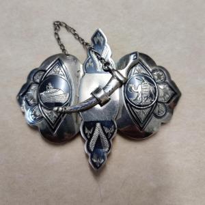 Silver Miello Buckle