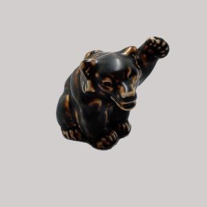 Royal Copenhagen Knud Kyhn Bear Cub