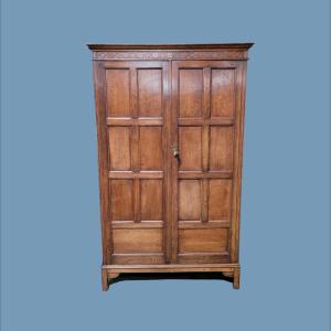 Waring And Gillows Oak Wardrobe