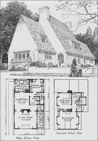 1920s English Cottage - Small Homes - Books of a Thousand ...