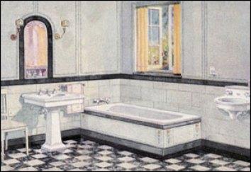 Modern Bathroom Design Early 20th Century Bathroom
