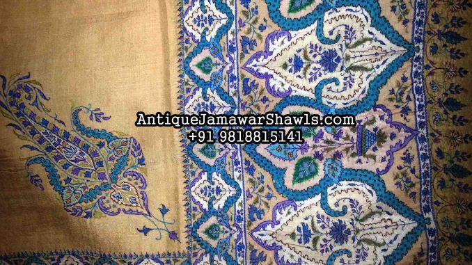 antique shawl, cashmere pashmina, cashmere shawl, jamavar, jamawar shawl, jamawar, kani shawl price, kani shawl, kashmir pashmina, kashmiri embroidered shawls, kashmiri pashmina shawls,