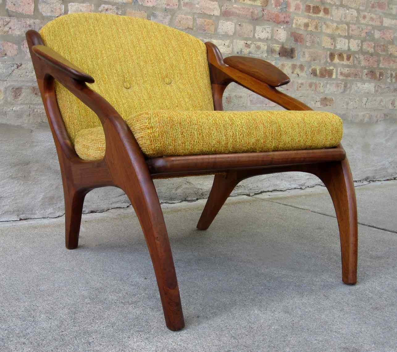 adrian pearsall chair ergonomic for si joint pain craft associates inc mid century