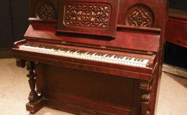 Small Boudoir Size Briggs Victorian Upright Piano