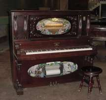 Meister Coin-operated Nickelodeon Player Piano Antique