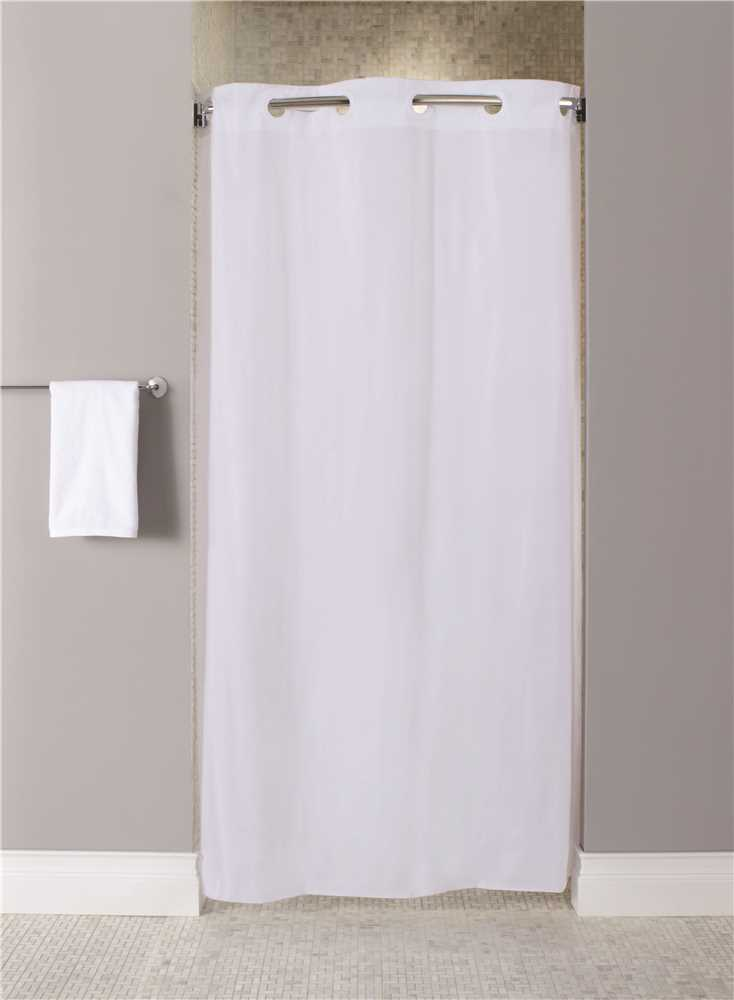 bs3564825 hookless stall size 42 inch x 74 inch white 10 gau