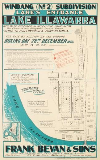 Australian Real Estate subdivision posters