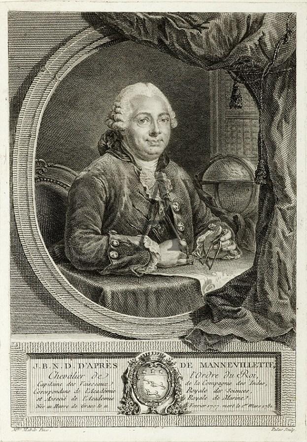 J.B.N.D.D'Apres de Mannevillette - Antique Print from 1781