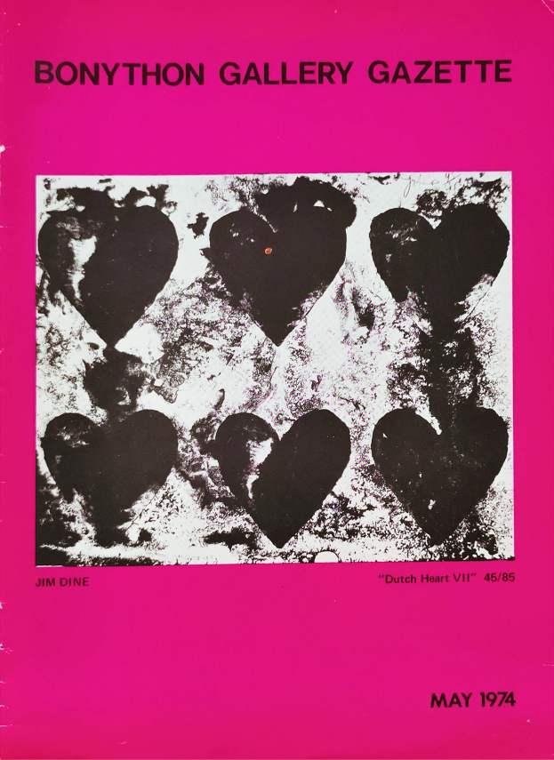 Bonython Gallery Gazette May 1974 - Vintage Ephemera from 1974