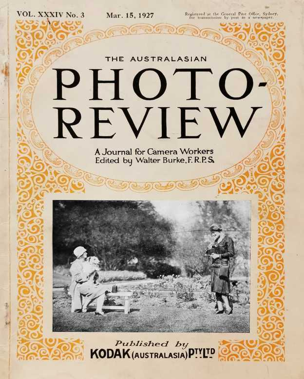 Australasian Photo-Review  / A Journal for Camera Workers. - Vintage Book from 1927
