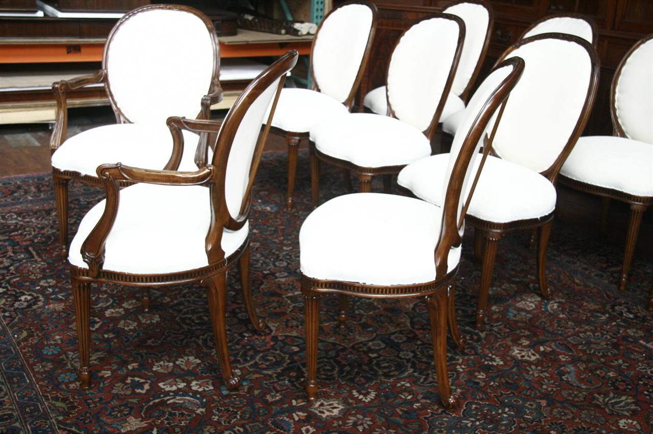 Round Back Dining Room Chairs 10 Upholstered Dining Chairs Cabriole Legs