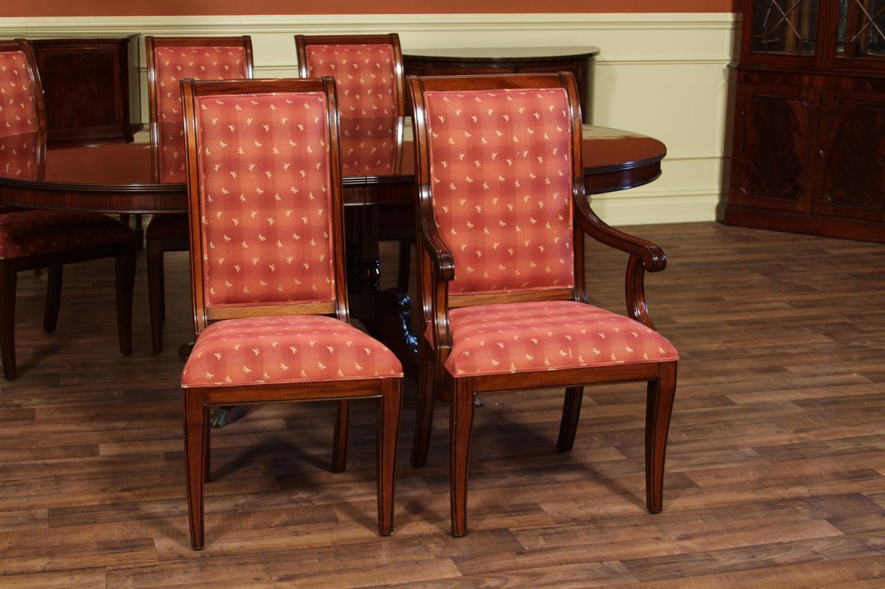 Red Upholstered Dining Chairs Chair Upholstery And Covering