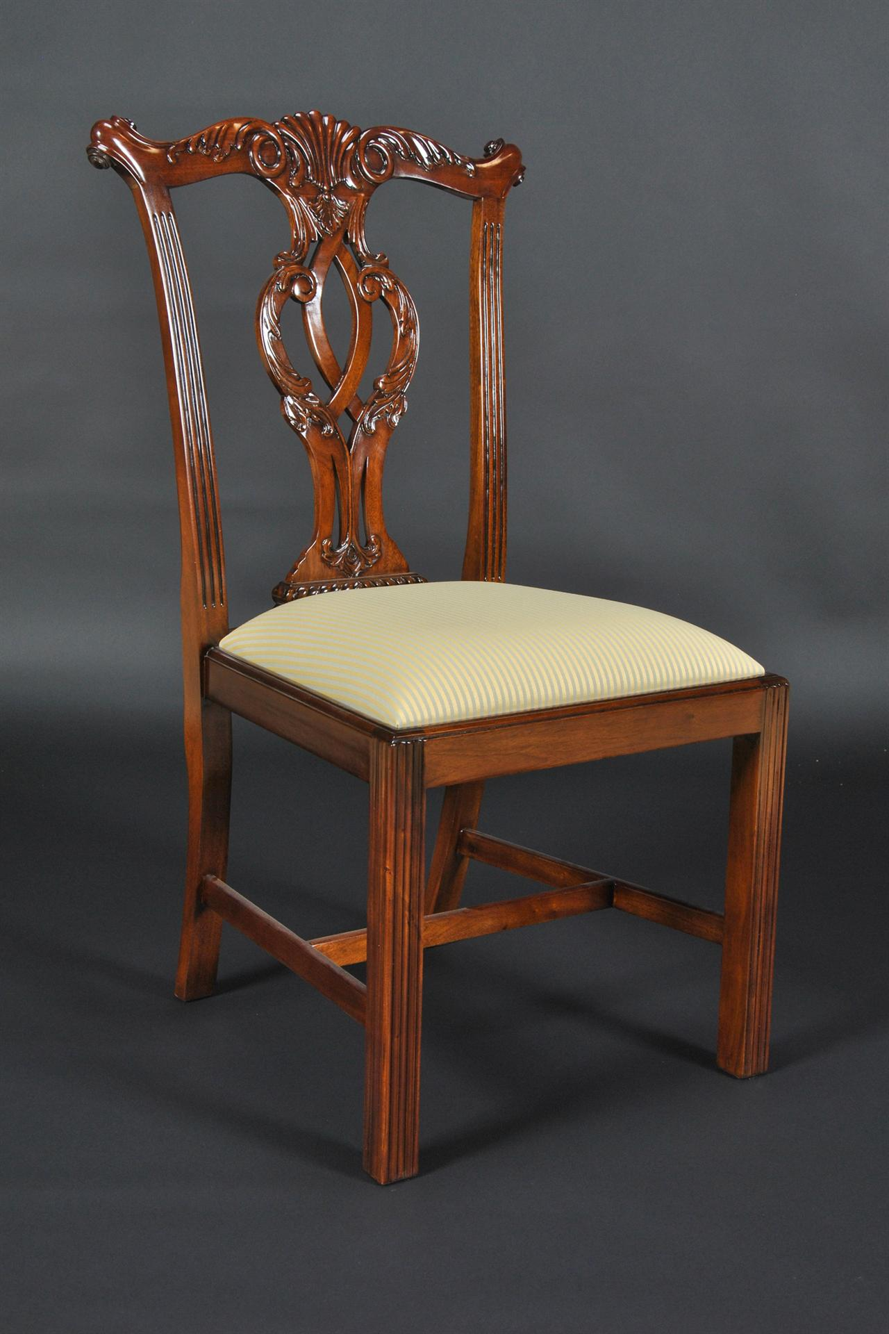 Room Chairs Chippendale Straight Leg Dining Room Chairs Philidelphia