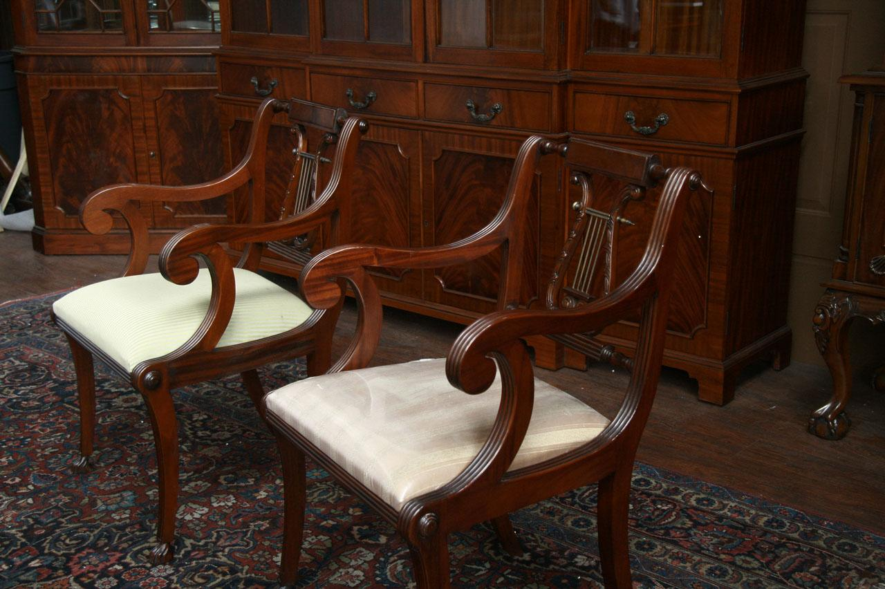 Lyre Back Chairs Lyre Back Dining Room Chairs Lyre Back Dining Chairs