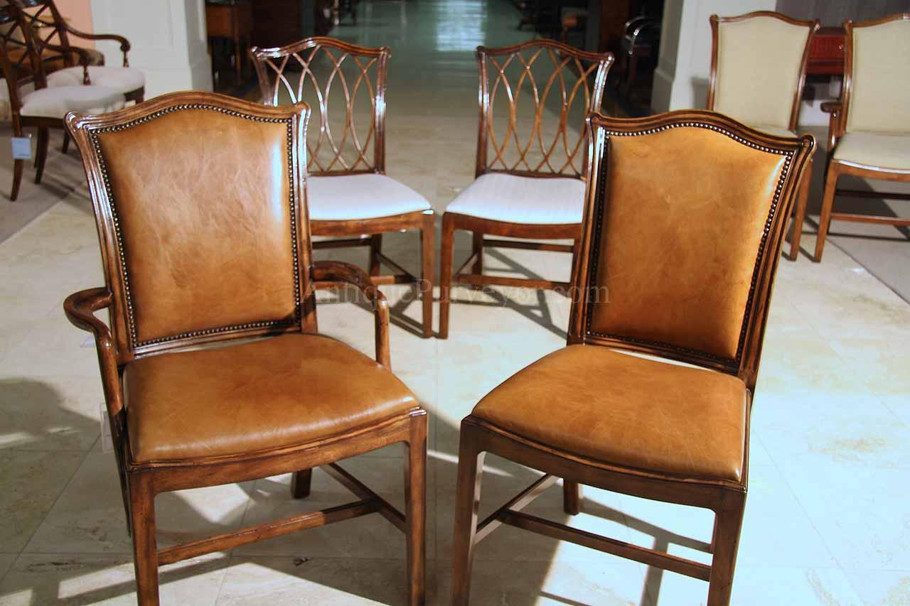 Formal Dining Room Chairs Mahogany Chippendale Chairs For Elegant Formal Dining Rooms