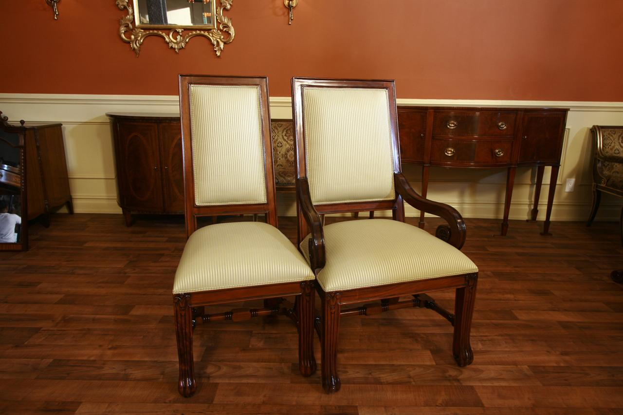 Oversized Dining Chair Large Mahogany Dining Room Chairs Luxury Chairs