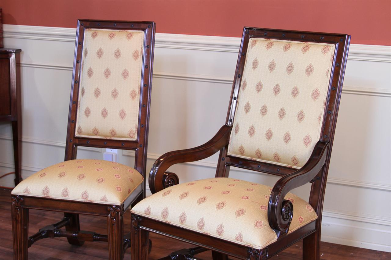 Room Chairs Large Mahogany Dining Room Chairs Luxury Chairs