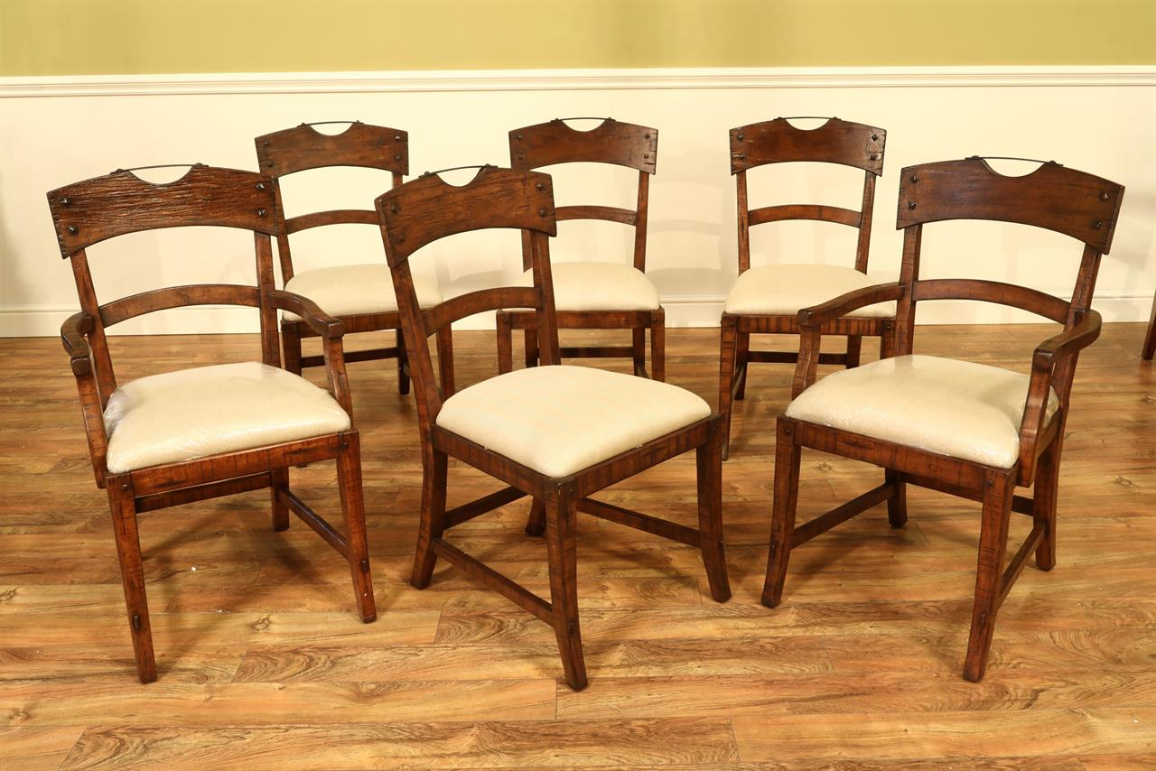 Unfinished Dining Room Chairs New Solid Walnut Rustic Dining Room Chairs
