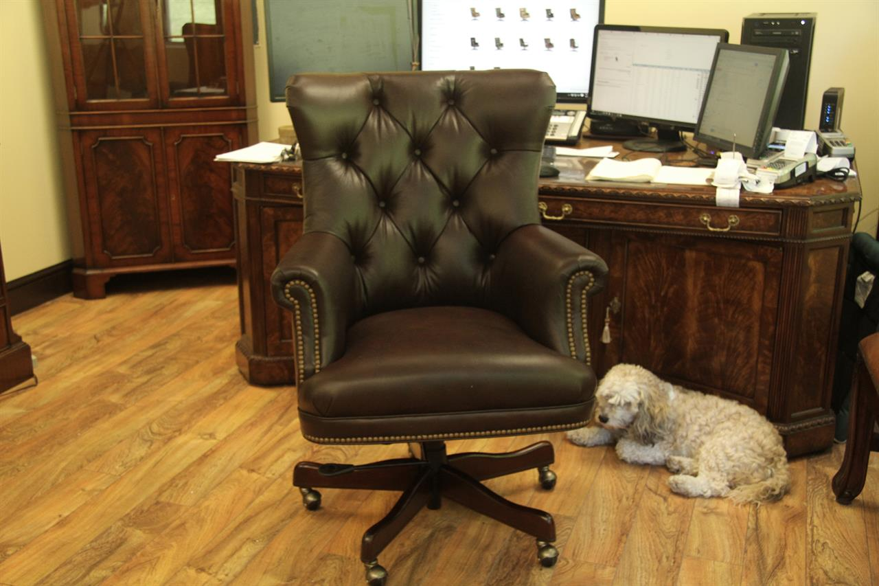 Leather Conference Room Chairs Brown Tufted Leather Executive Chair Conference Room Chair