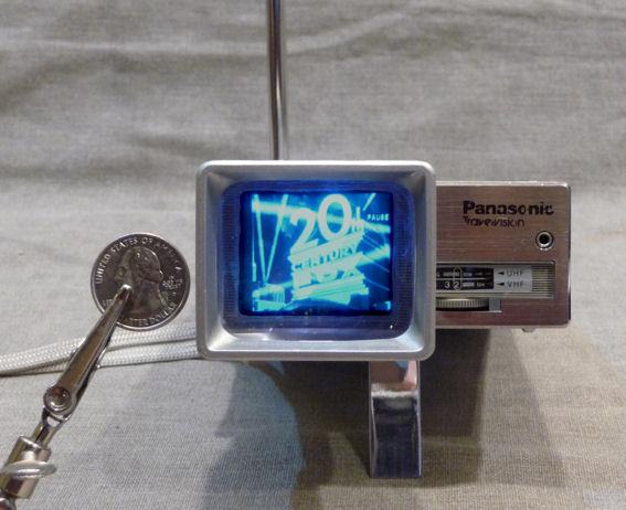 Panasonic Model TR 1010P Handheld Television 1981