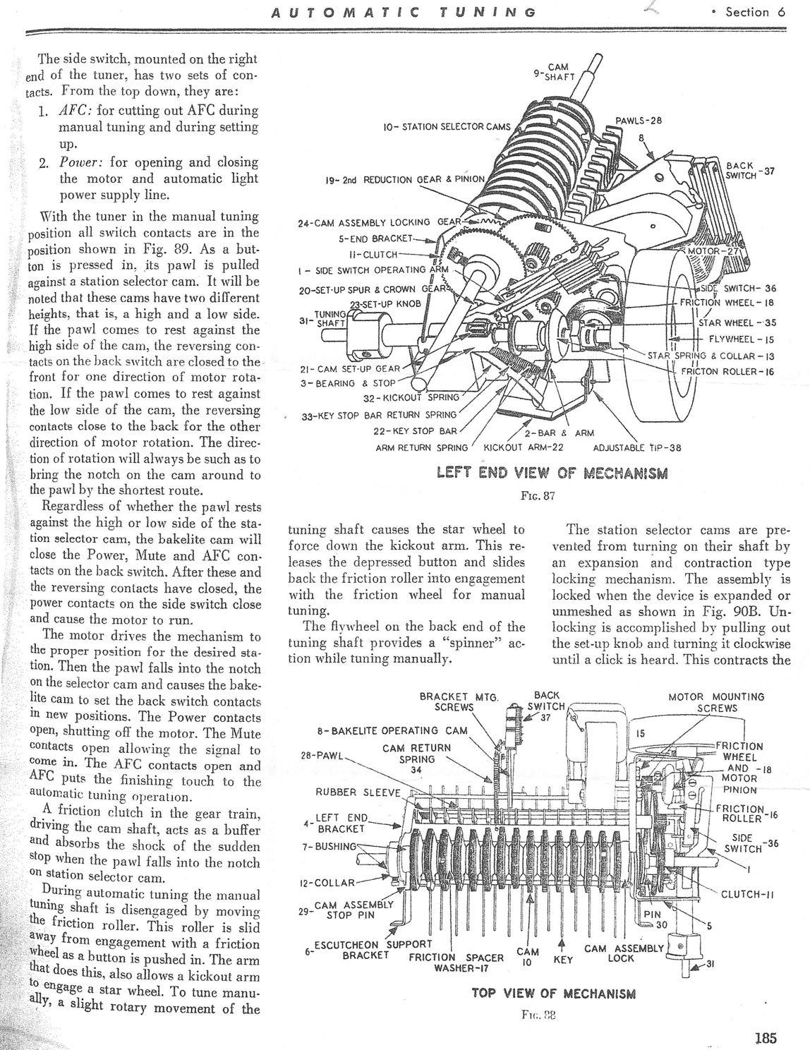 Stewart Warner Model 1865 Console Radio (1938)