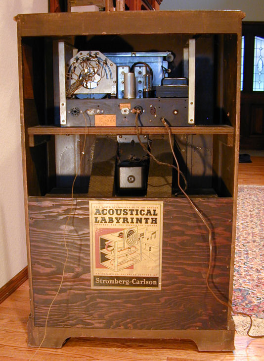 Stromberg Carlson Model 440m Console Radio 1939