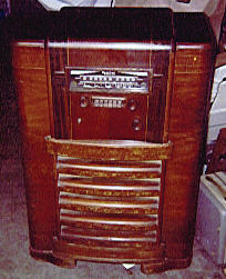 Sparton Model 1271 Console Radio 1939