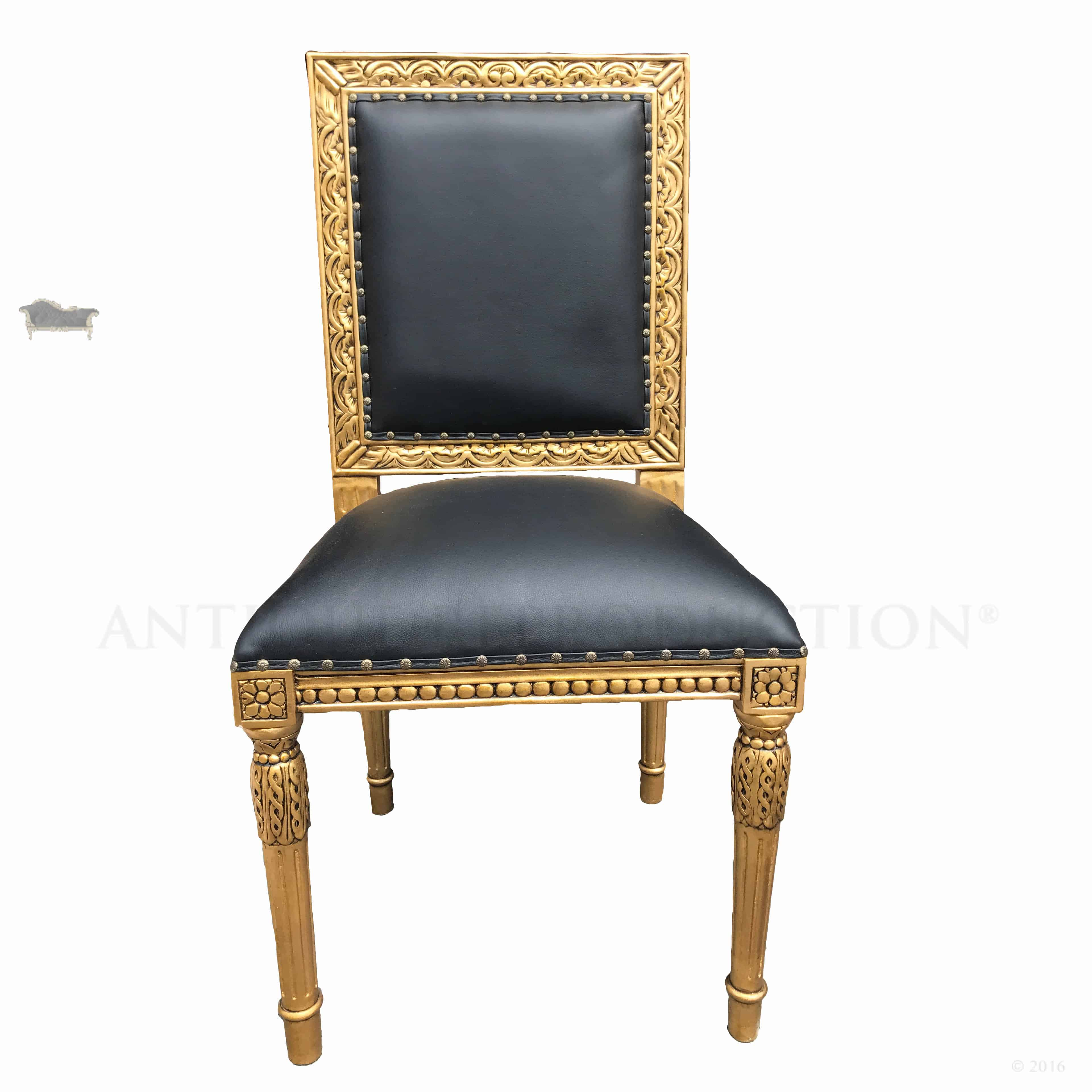 French Dining Chairs French Louis Xvi Dining Chair Square Back Antique