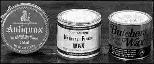 Is Johnson Paste Wax Food Safe