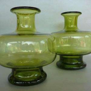 holmegaard vases by Per Lutkin