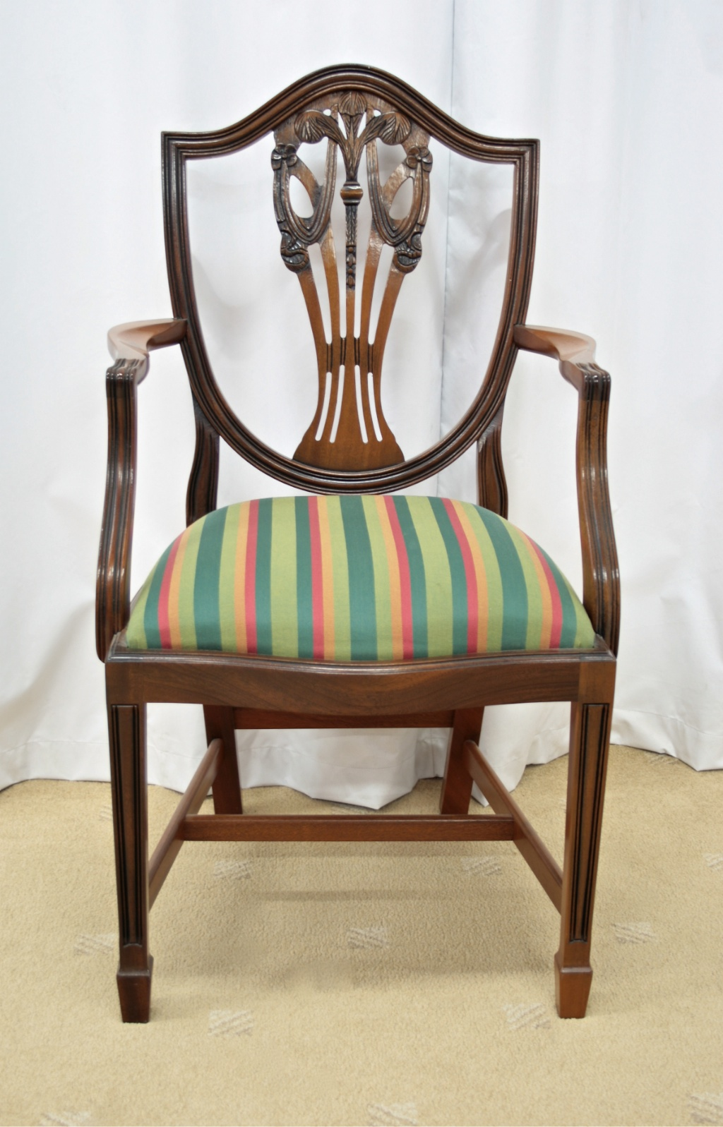 Cheap Dining Chairs For Sale Six Mahogany Shield Back Dining Chairs For Sale Antiques