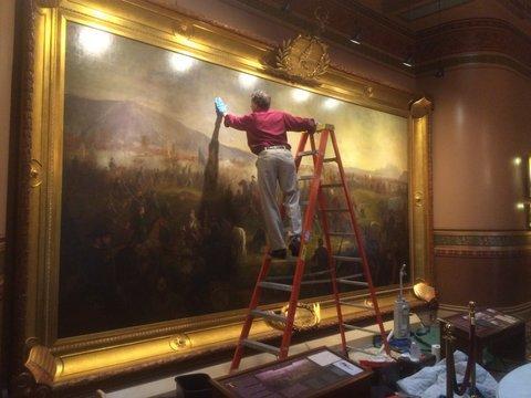 fine art restoration - montpelier state house