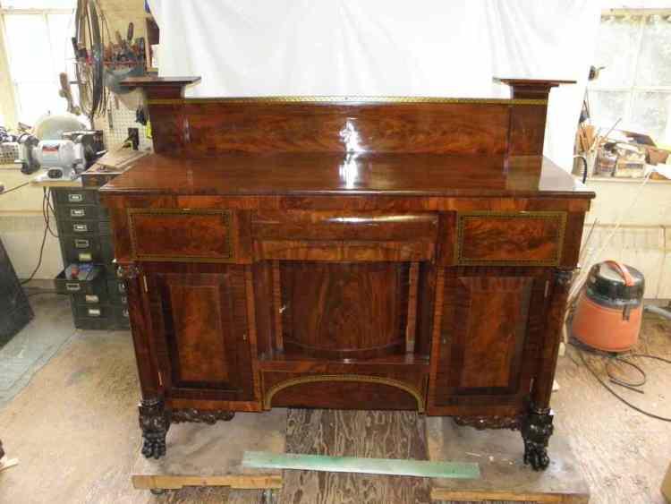 Antique Furniture Restoration - Sideboard Restoration