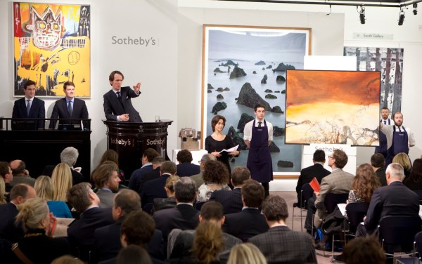 Richter Tops Sotheby Contemporary