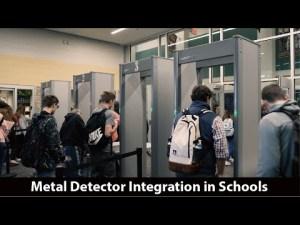 Metal Detector Integration in Schools/ Santa Fe ISD