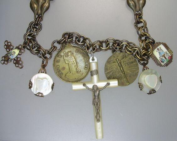 Sourcing Paris Flea Markets for Jewelry Pieces-necklace