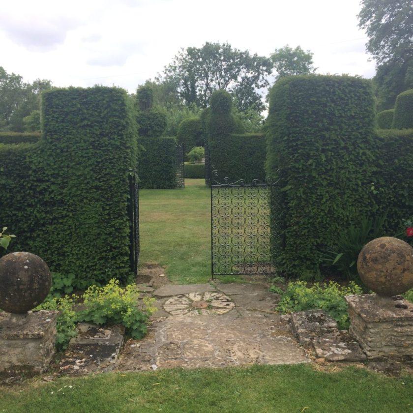 Garden Antiques in England-Garden Hedges