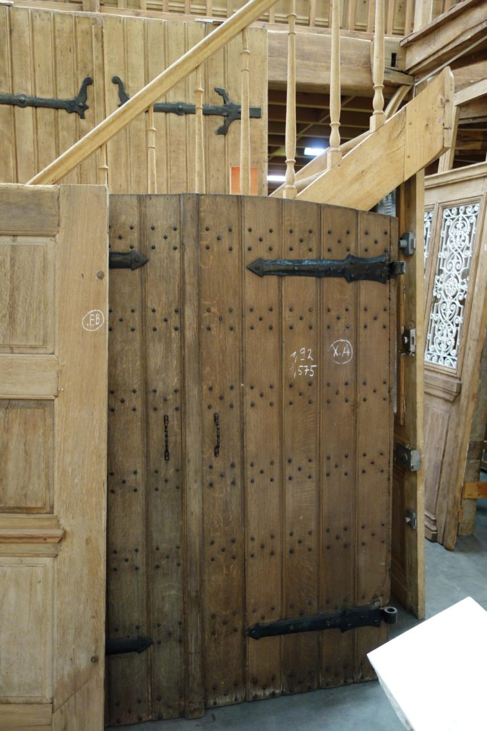 Architectural Salvage- Barn Door Trend- Hinged Door